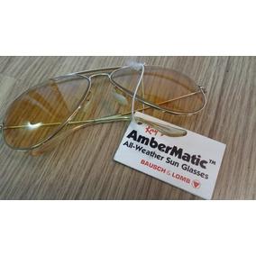Ray Ban Antigo Raro Bausch   Lomb Bl B l Ambermatic. Unico 4775203659