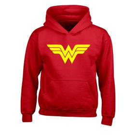 Sudadera Mujer Maravilla Wonder Woman, Super Heroes