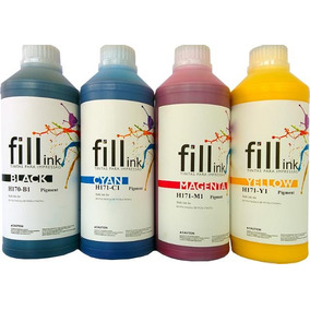 Tinta Pigmentada Fill Ink Hp Pro 8000 8100 8600 8610 100 Ml