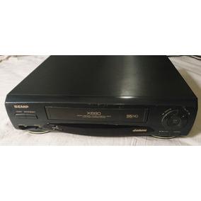 Video Cassete Semp X680 - 4 Cabeças + Detalhes Abaixo