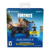 Joystick Dualshock 4 Fortnite Bonus Content Bundle Ps4 Full