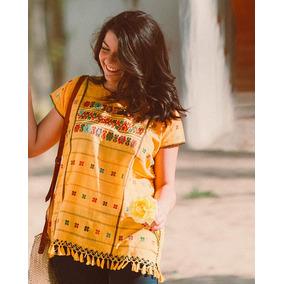 Blusas Artesanales De Amuzgo Oaxaca En Telar De Cintura