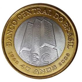 Moeda 40 Anos Banco Central Do Brasil