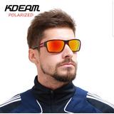 Óculos Sol Pesca Kdeam Polarizado Espelhado Anti-reflexo Uv 7e95ed745e