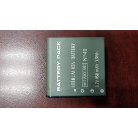 Batería Np-40 Para Cámara Digital De Vídeo Rca Ez5040sb
