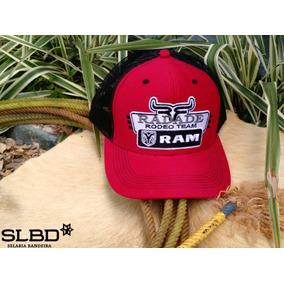 Bone Radade Rodeo Team Ram Ref.1162 Vermelho preto fc1839fdaa7