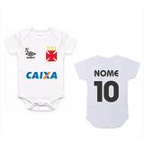 Bodie Body Infantil Roupa Bebê Nene Time Futebol Vasco Gama e5f7da2699452