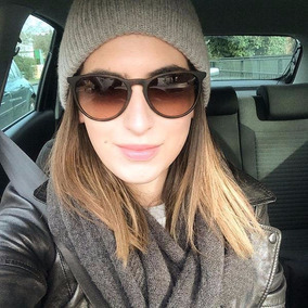 Óculos Feminino Masculino Erika Preto Fosco Lente Degradê · 2 cores 67bbc17d7c