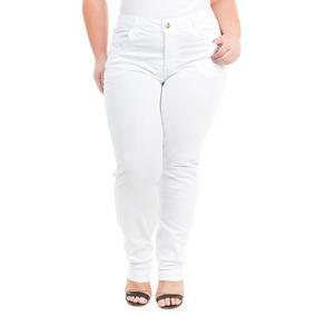 Calça Capri 70603 · Calça Feminina Jeans Cigarrete Tamanhos Grandes Plus  Crj341 3edb5f074fe