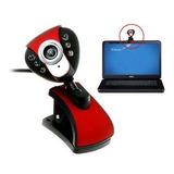 Cámara Web Cam, Rota 360º, 8mpx, Con Micrófono Y Flash