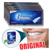 Fitas Whitening Strips Clareador Dental Branqueamento