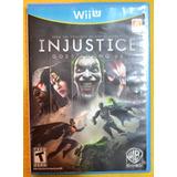 Injustice Gods Among Us Nintendo Wii U Play Magic