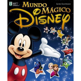 Mundo Mágico Disney Álbum E 50 Pacotinhos Lacrados