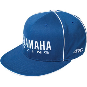 Gorra Factory Effex Yamaha Flexfit Hombre Azul blanca Sm md b20b11e8db5