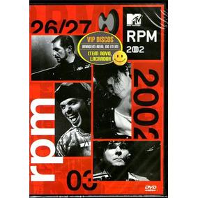 Dvd Rpm Mtv Ao Vivo 2002 Paulo Ricardo - Original Lacrado!!