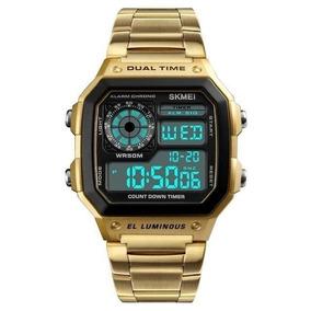 Relógio Digital Skmei Clássico Retrô Modelo 1335