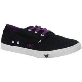 30% Off Tenis Vibe Breeze Preto/violeta Skate Shoes - Mostr