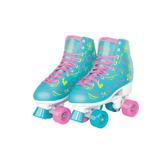 Patins 4 Rodas Ajustável 35 A 38 Roller Skate - Fenix