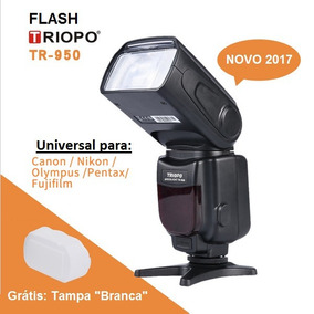 Flash Speedlight Triopo Tr-950 Canon Nikon Olympus Pentax...