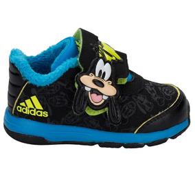 Tenis adidas Disney Goofy Negro Azul 14-15 Zx Originales