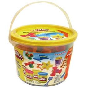 Massinha Play-doh - Mini Balde Praia - Hasbro
