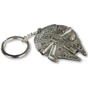 Chaveiro Réplica Miniatura Millennium Falcon Star Wars