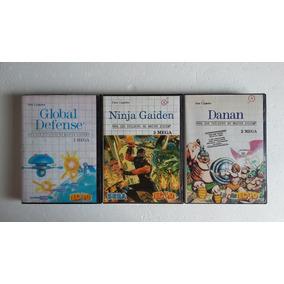 Caixas Com Encartes Dos Jogos De Master System, Leia!!