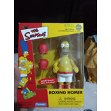 Figura De Homero Simpson Boxing Playmates Nuevo