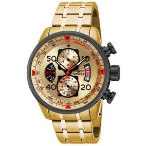 Relógio Invicta Aviator 17205 - Dourado Masculino Original