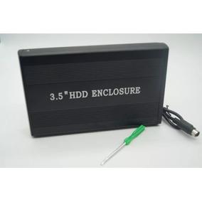 Case P/ Hd 3,5 Externo Pc Computador Sata Usb 2.0