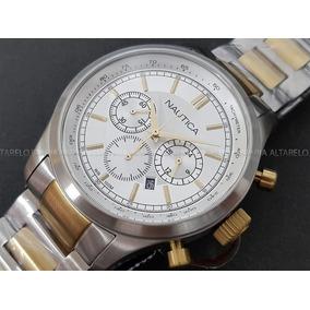 ad9684d0bd0 Relogio Nautica Cronografo N17579g Novo - Relógios De Pulso no ...
