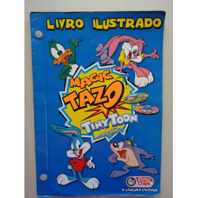 Livro Ilustrado Magic Tazo Tiny Toon Adventures A707