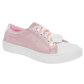 Tenis Mujer Ot18 Been Class 0938 Rsbl 22-26 Con Luces Led