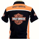 Camiseta Camisas Gola Polo Esportiva Moto Harley Davidson