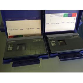 Fita Dvcam Sony Kit Com 5 De 63 Min 4 De 124 M