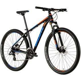 Bicicleta Groove Hype 70 2018 29er Shimano 24vel Preta T17