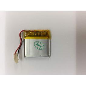 Bateria Pila Para Mp3 Mp4 Gps Audifonos 22mmx22mm 3.7v 80mah