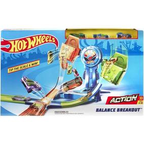 Pista Hot Wheels Desafio Do Equilíbrio Mattel