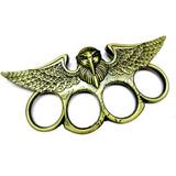 Manoplas Acero Diseño Aguila Defensa Seguridad Personal
