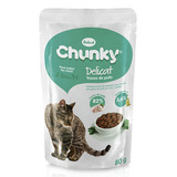 Chunky Alimento Chunky Delicat Pollo 80 Gr Para Gato