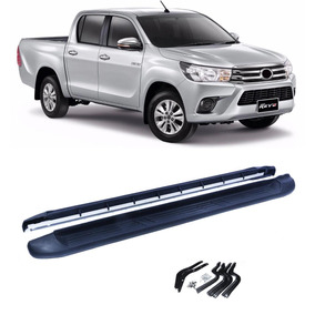 Par Estribo Lateral Plataforma Toyota Hilux Srx 2016 2017