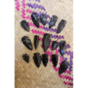 Puntas De Flecha De Obsidiana