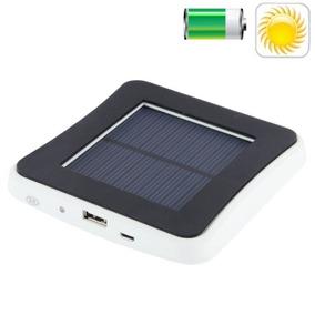 Cargador 0.6w 2600mah Ventana Solar Panel Pista Para Iphone