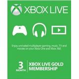 Xbox Live Gold Membresia 3 Meses Codigo Al Mejor Precio