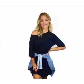 Vestido Blusão Camiseta Blogueiras Feminino 2019 + Brinde
