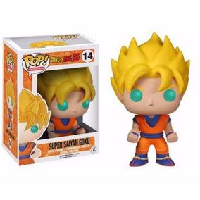 (frete Grátis) Dragon Ball Z Goku Super Saiyan Boneco Pop