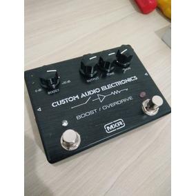 Mxr Custom Audio Boost Overdrive Mc-402
