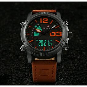 Relógio Masculino Naviforce Nf9095m- Anadigi