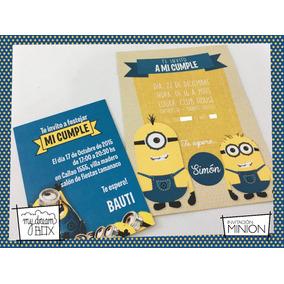 ce5ddd48fc724 Tarjetas De Cumpleanos Minions - Souvenirs para Cumpleaños ...