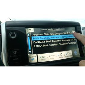 Atualização Com Radar Gps Peugeot Original Brasil E Amer.sul